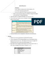 System Resources on PC (IRQ, DMA, I-OAddress)