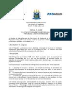 Edital Programa Licenciaturas 2020