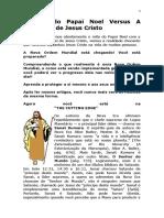 O Mito do Papai Noel Versus A Realidade de Jesus Cristo.docx
