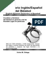 Diccionario de Beisbol