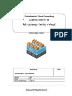 Laboratorio 04 - Almacenamiento Virtual