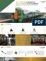 4° Congreso Latinoamericano de Expansión Ferroviaria México