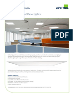 Skytile LED Flat Panel Lights Product Bulletin