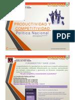 Competitividad Y Productividad