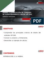 SEMINARIO - Diseño de tanques API 650 - participantes.pdf