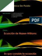 presentacion Hazen Williams.pptx