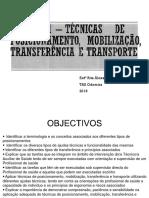 Ufcd 6571 - Técnicas Posicionamento