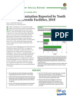 Sexual Victimization Reported by Youth in Juvenile Facilities