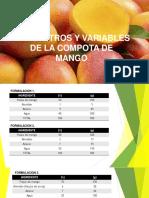 Parametros y Variables Mango
