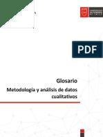 Glosario Metodología y análisis de datos cualitativos.pdf