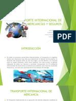 trasnporte internacional de mercancias y seguros