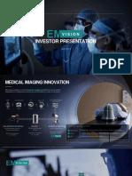 EMVision investor presentation