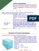 Pression hydrostatique