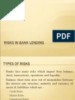 Risk in Bank Lending
