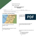 Evaluación Escrita 1 (Medir Progreso)