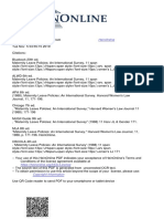 Maternal Leave Policies - An International Survey by Harvard Women's Law Journal