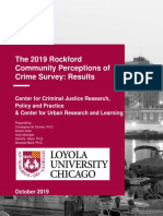 2019 Crime Perception Survey Results