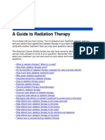guide to radiation therapy