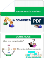 1 La Comunicación Elementos Clases