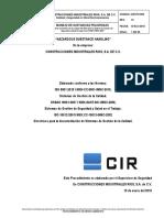 CIR-PO-909 MANEJO DE SUSTANCIAS QUIMICAS PELIGROSAS.docx
