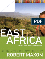 Maxon Robert. - East Africa_ an Introductory History