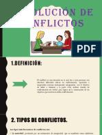 RESOLUCIÓN DE CONFLICTOS EXPOCISIÓN 111