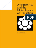 Barry S. Kogan - AVERROES and the Metaphysics of Causation-State University of New York Press (1985)