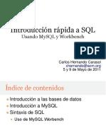 Introduccion Rapida a SQL