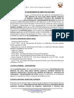 Contrato de Residente de Obra n 01
