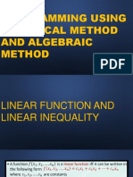Or Lecture 1 Linear Programming