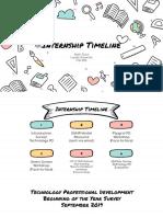 internship timeline  1