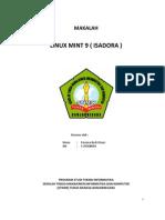MAKALAH Linux Mint