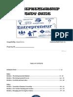 Entrepreneurship Study Guide