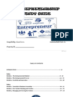 Entrepreneurship Study Guide