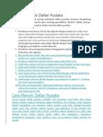 Prinsip Menulis Daftar Pustaka.docx
