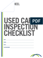 The News Wheel Used Car Inspection Checklist