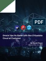Wikibon-Oracle Gen 2 ExaCC Bus. Value Analysis