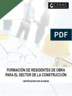 CONTENIDO RESIDENCIA DE OBRA NOVIEMBRE