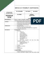 11. SOP MENCUCI RAMBUT (KERAMAS).rtf