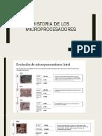 Historia De Los Microprocesadores.pptx