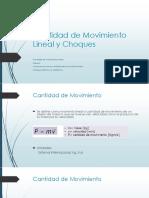 Cantidad de Movimiento Lineal y Choques.pptx