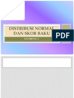 DISTRIBUSI NORMAL DAN SKOR BAKU.pptx