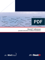Ducorit References - Grouted Connections in Offshore Foundations