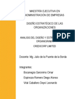 Diseño Organizacional Segunda entrega.docx