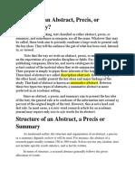 Abstract-Precis-Summary (1).docx