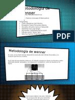 Métodos Eléctricos - Exposición - Metodología de Wenner.pptx