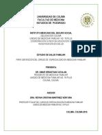 Estudio de Salud Familiar Catalan