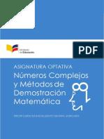 matemática superior ministerio educacion Ecuador