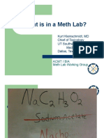 What is in a Meth Lab