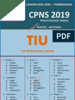 LATIHAN SOAL TIU KEMAMPUAN VERBAL_ANTONIM CPNS 2019.pdf